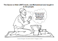 Click here for Quran worksheet for ages 5-6