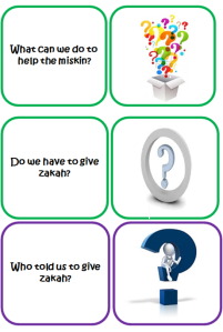 Click here for Flash card questions on Zakat