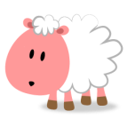 Happy Land-Pink Sheep-256x256
