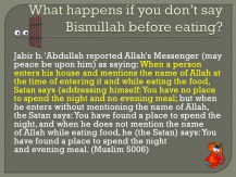 2 Etiquettes of Eating According to Qur'an and Sunnah