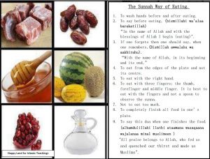 Placemats-Sunnaw Way of Eating