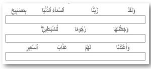 Surah Mulk-6 verse 5