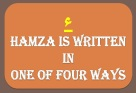 2-Madina Arabic Bk1, All about Hamza