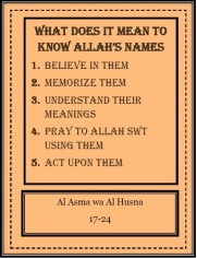 FlipBook 3-The Beautiful Names of Allah for ages 10+