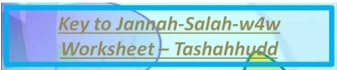 Key to Jannah-Salah w4w for ages 9-10-Tashahhudd 11