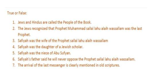 Test Your Knowledge of Qur'an- Al Baqarah Test Ayah 86 to Ayah 90